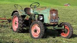 old broken tractor wanted