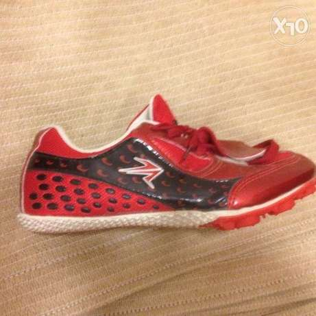 TA Sports athletic spike shoes, size UK 4/US 5/EUR 35.