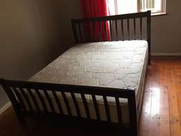 double bed forsale with frame