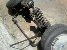 ford sierra complete front and rear suspension