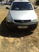 Opel Corsa Bakkie With Canopy 1400 CC 2008 MODEL