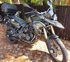 2014 BMW F800 GS with lots of extras