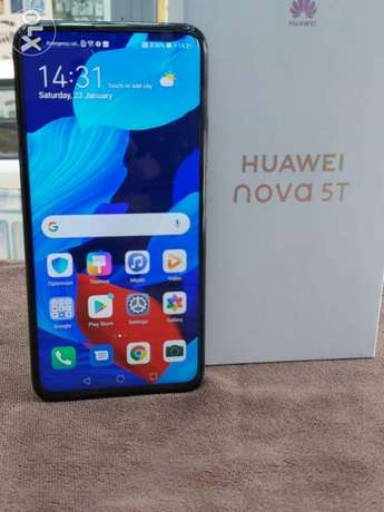 Huawei Nova 5t only 5 days use 1 year warranty remaining