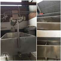 Complete cheese making machinary
