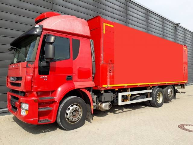 Iveco Stralis AT260S42Y/FP-D / Getränke / LBW / AHK Euro5 Luftfeder ZV Standhzg - 2008