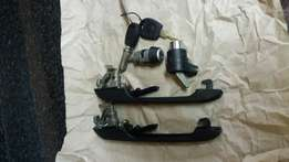 Vw mk1 oringinal door locks and handles brand new from agents.