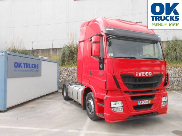 Iveco Stralis AS440S46TP Euro5 Intarder Luftfeder - 2013
