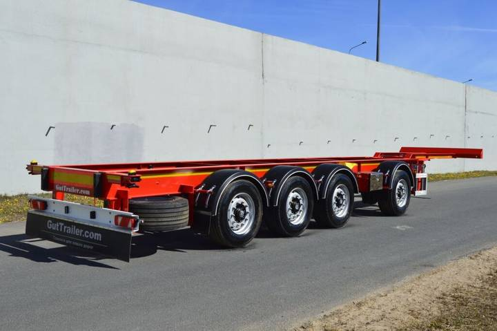 new gut   cs-544 container chassis semi-