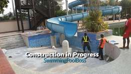 We Got a Fully Functional Swimming Pool Construction Website