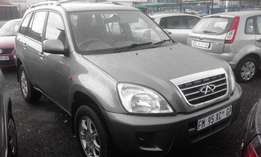 Cherry Tiggo 1.6TX Model 2007 5 Door Colour Grey Factory A/C&CD Playe