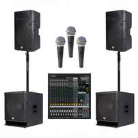 Speakers for any function