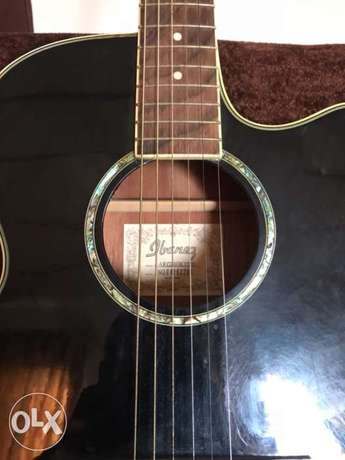 Ibanez AEG10BK Acoustic Electric Guitar with free Guitar Textbook Alimosho - image 1