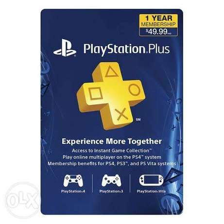 Ps plus 1 year usa
