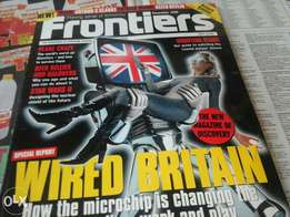 Frontiers magazine, highly collectable pre 2000 Scientific magazine, a
