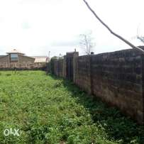 2 plots of land fenced for sale at Elebu Oluyole extension Ibadan