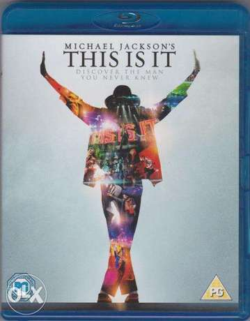Michael Jackson's This Is It Movie - Blu-Ray (New! Sealed)