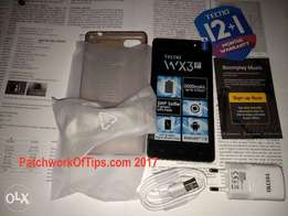 Brand New sealed Tecno WX3 in a shop, 13 mnths wrnty, free cvr