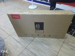Smart Tv:TCL 43 Inch New-Free delivery