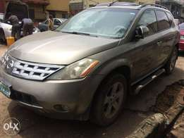 Nissan Murano Jeep 2005 working fine Registered