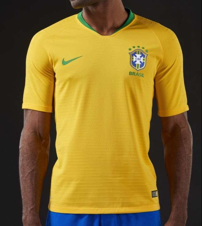 e0400a2ff 2018 Brazil World Cup Home Jersey - Sporting goods   Bicycles ...