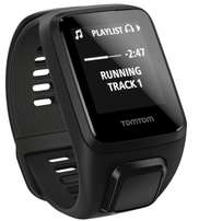 TOMTOM SPARK 3 CARDIO+MUSIC+HP Fitness Watch- Black - Large Strap