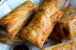 Fried pastries for breakfast or snack time