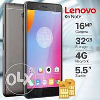 Brand new Lenovo K6 Note (3GB RAM-32GB ROM) 1yr warranty,Free delivery