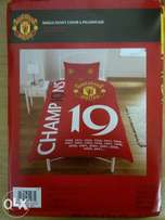 Brand new Manchester United 19X single duvet cover and pillow combo.
