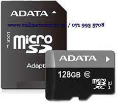 On Sale - ADATA Premier 128GB microSDXC Memory Card