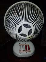 Vintage fan and heater