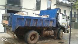 6 cubic 8tone tipper trucks available for hire