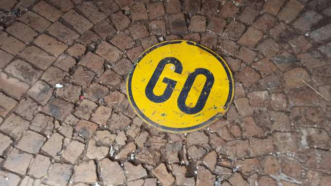 "Mancave or clubroom Authentic ""Go"" original sign Lenasia - image 3"