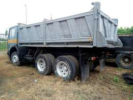 Direct Belgium Ten tyres Mercedes-Benz tipper for sale