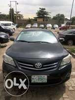 2013 Model Toyota Corolla Up 4Grabs
