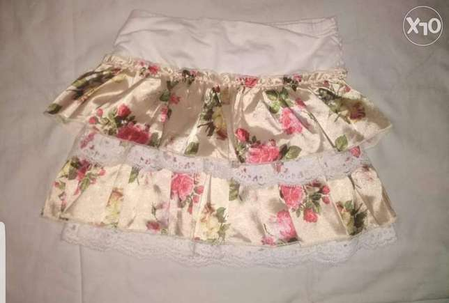 original marines italy flower skirt