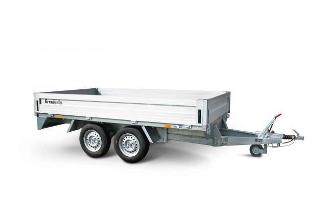 Brenderup 5375 Alu Hochlader, 2,5 to. 3750 x 1800 x 350 mm