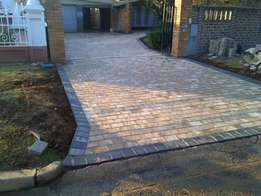 Good quality paving /driveways & parking areas.