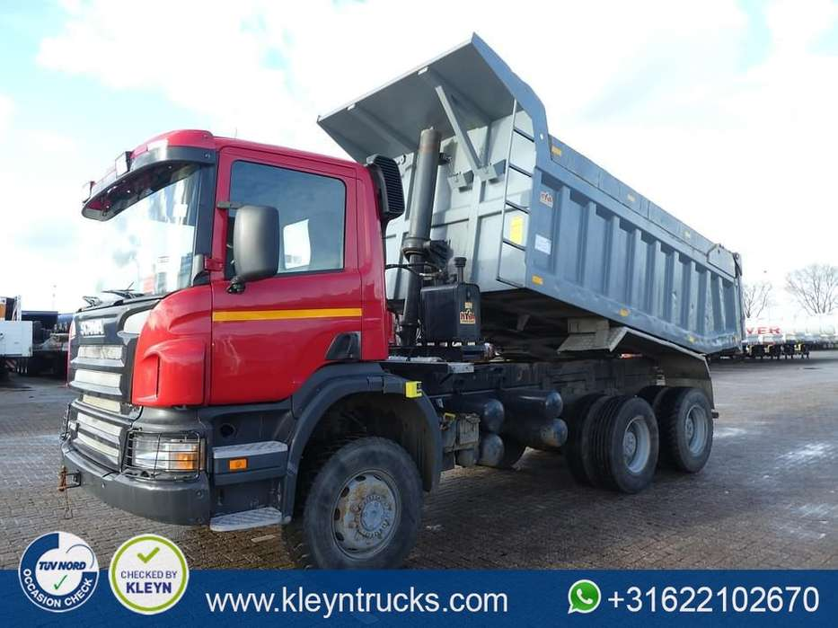 Scania P380 6x6 full steel 15m3 - 2007
