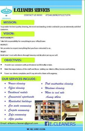 Cleaning Services Thika - image 1