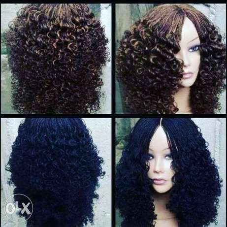 Braided wigs nd unprossed human hair Ikeja - image 1