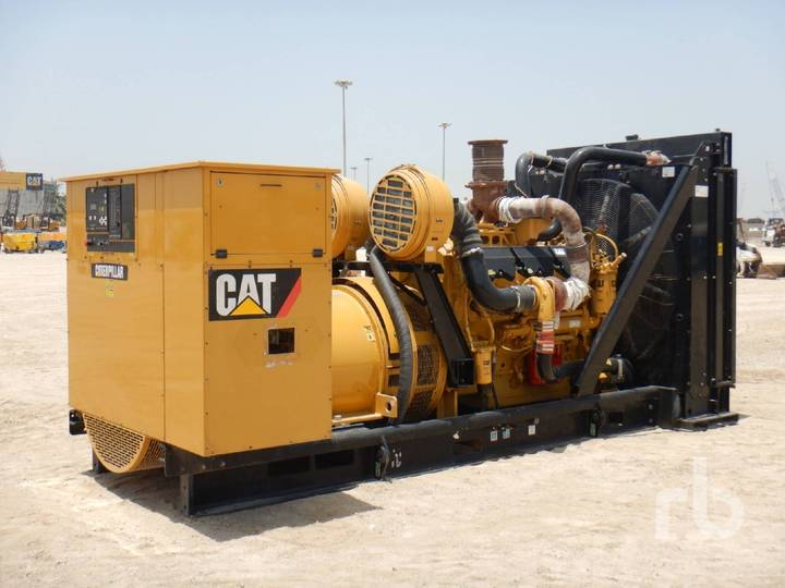 Caterpillar SR4B-GD 1013 KVA Skid Mounted - 2010
