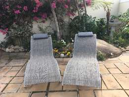 Outdoor loungers for sale