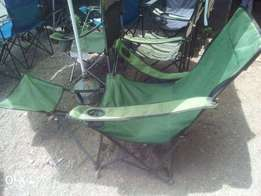 Camping chairs, ex uk