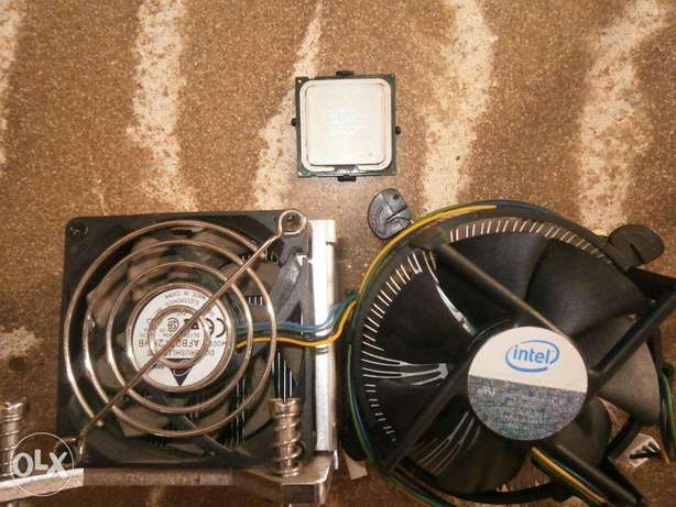 New Core2duo processor with 2 new fans with heatsink Mombasa Island - image 1