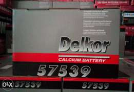 Delkor battery 75ah