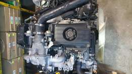 NISSAN ZD30 turbo engine