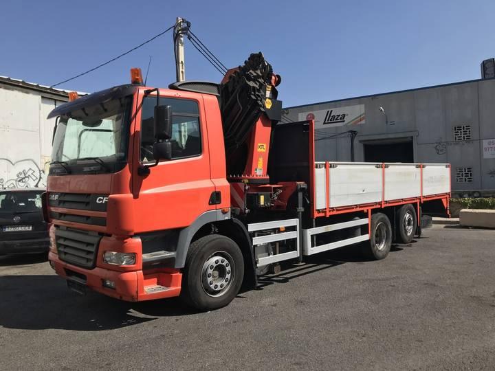 DAF Cf 85.340 Camion grua Palfinger 36002