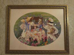 7b105a4c981009 Продам картина ручная работа вышивка крестом