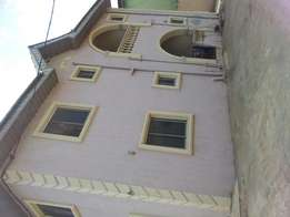 3bedroom flat for rent at igando