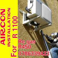 Aircon installation and service